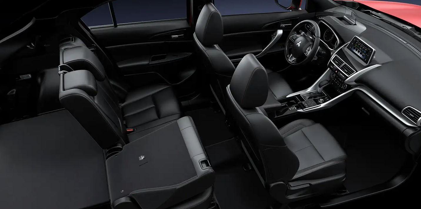 Interior of the 2020 Mitsubishi Eclipse Cross
