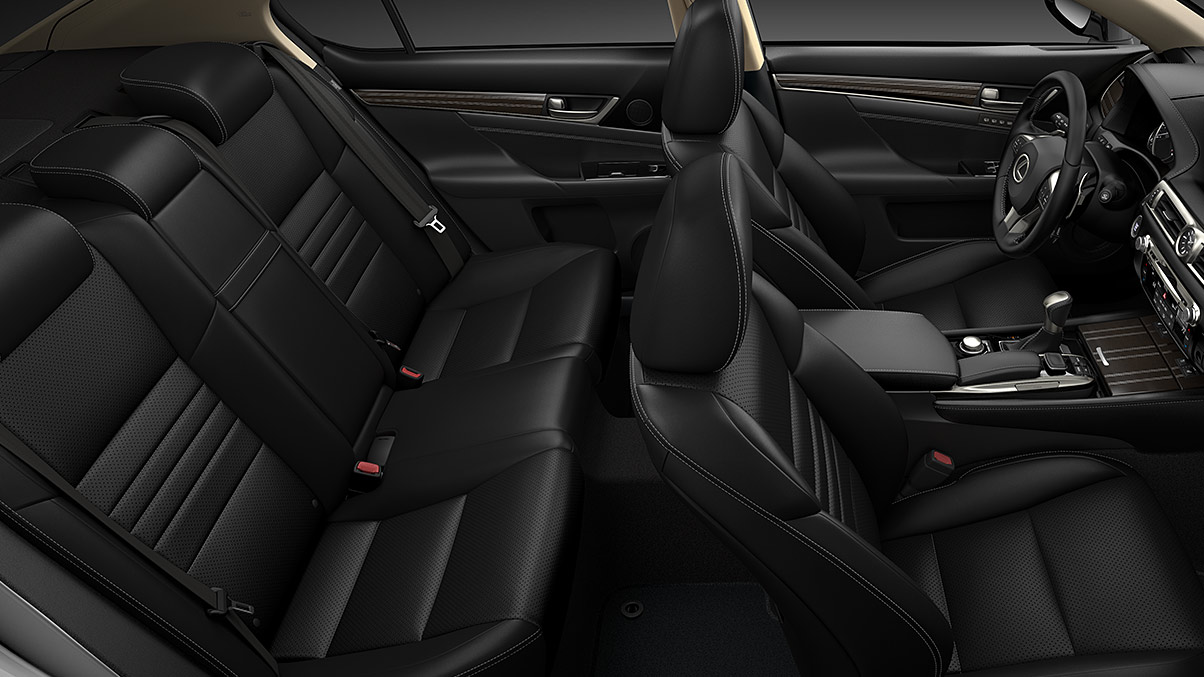 Luxurious Interior of the 2020 GS 350
