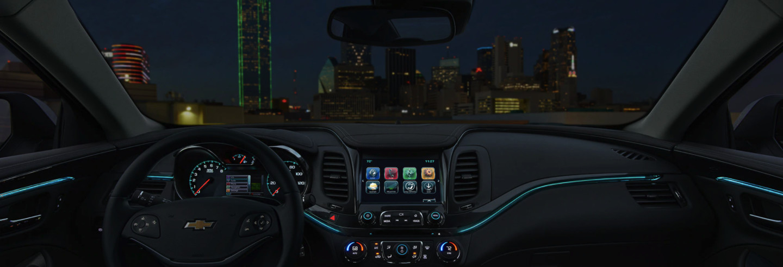 Interior of the 2020 Chevrolet Impala