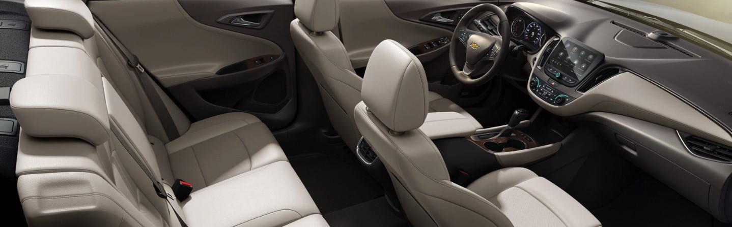 Interior of the 2020 Chevrolet Malibu
