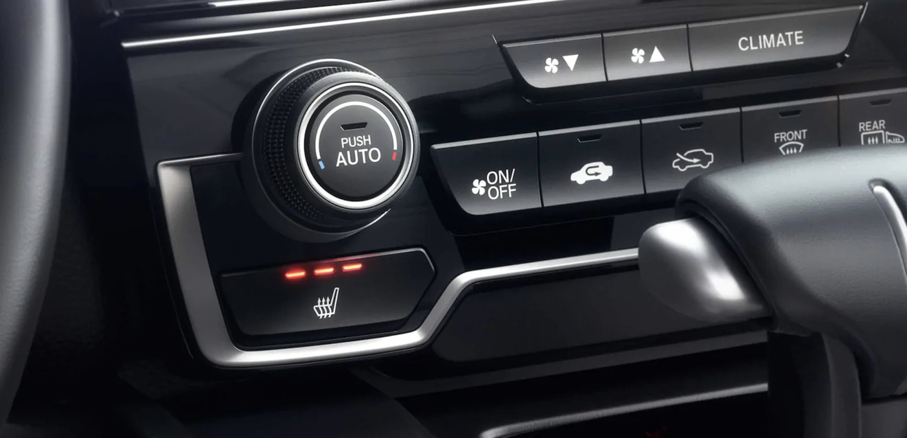 Climate Controls in the 2020 Honda CR-V
