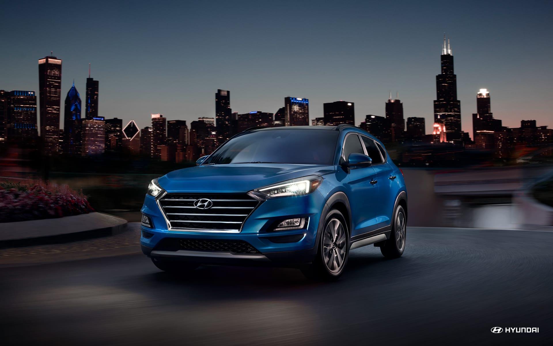 Test Drive the Hyundai Tucson!