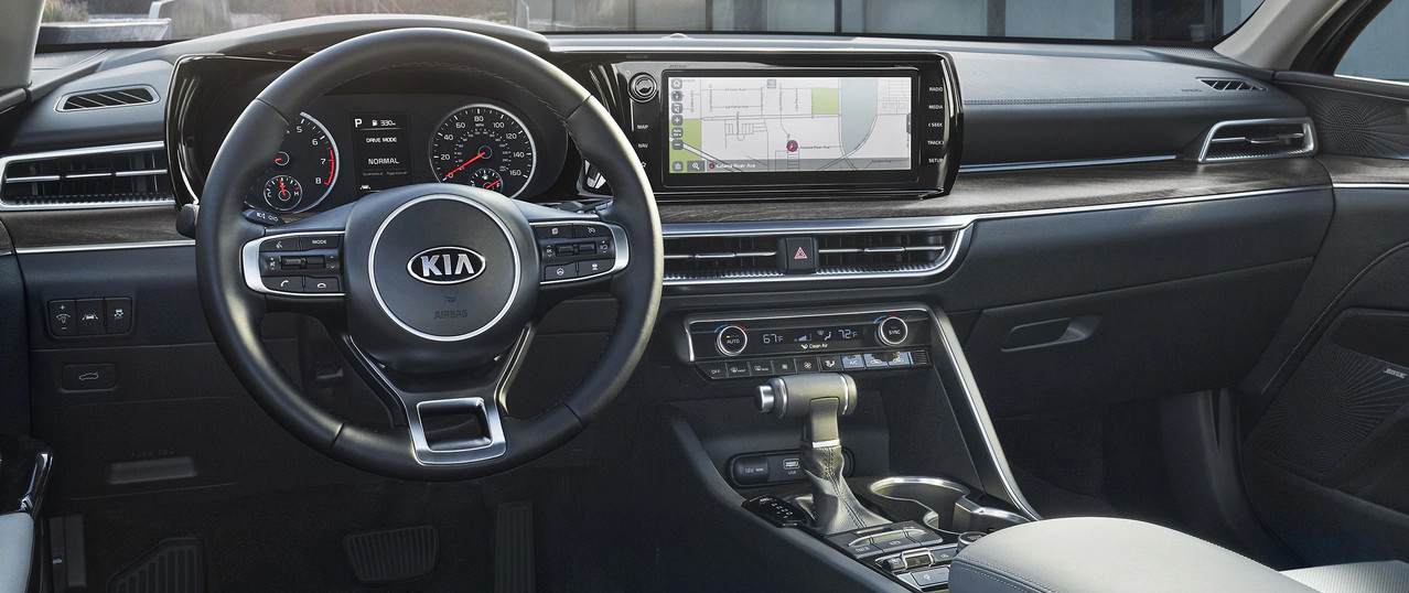 2021 Kia K5 Available 10.25-inch Touchscreen