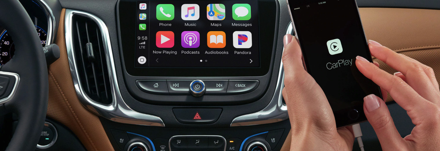 Touchscreen Display in the 2020 Chevrolet Equinox