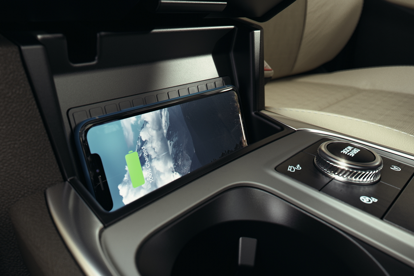 Wireless Phone Charger in the 2020 Ford Explorer