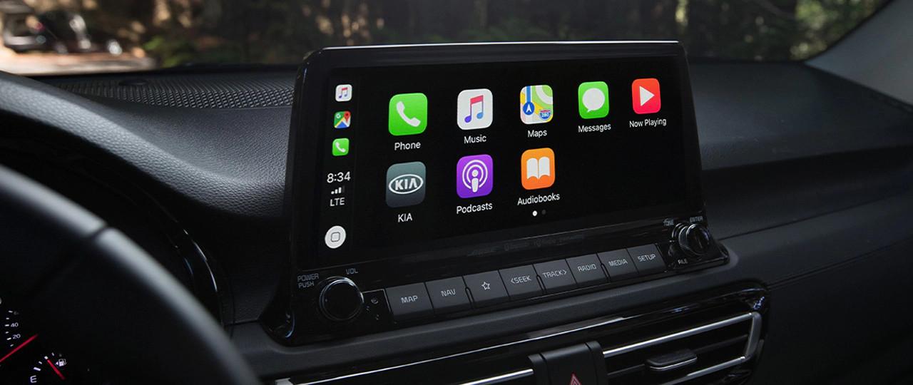 2021 Kia Seltos Available 10.25-inch Touchscreen Display