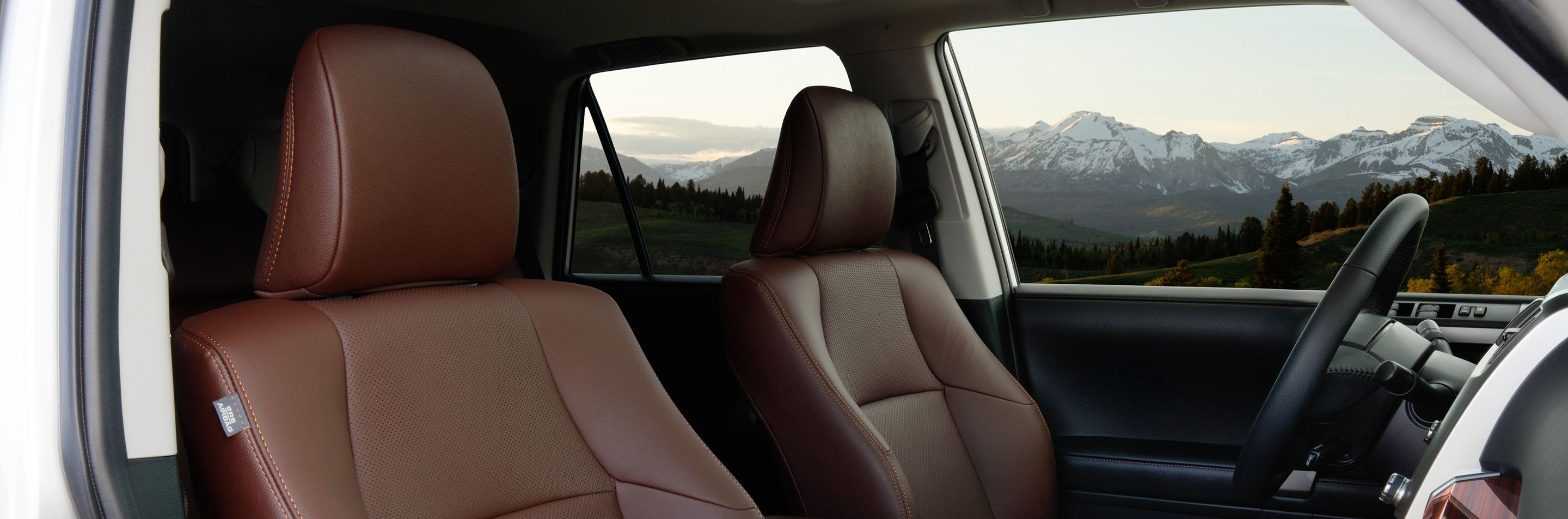 Seating in the 2020 Toyota 4Runner