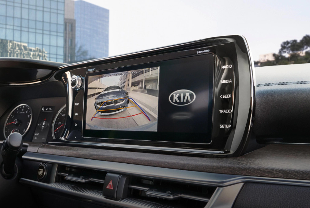 2021 Kia K5 Rearview Monitor with Dynamic Parking Guidelines