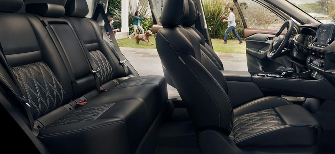 2021 Nissan Rogue Seating