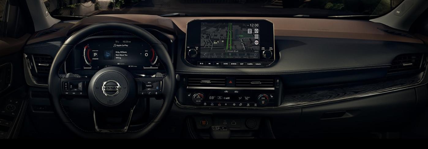 2021 Nissan Rogue Cockpit