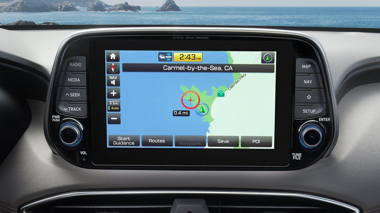 2020 Santa Fe Navigation