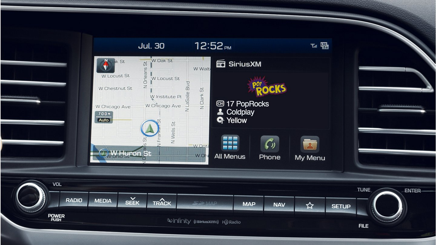 2020 Elantra Touchscreen