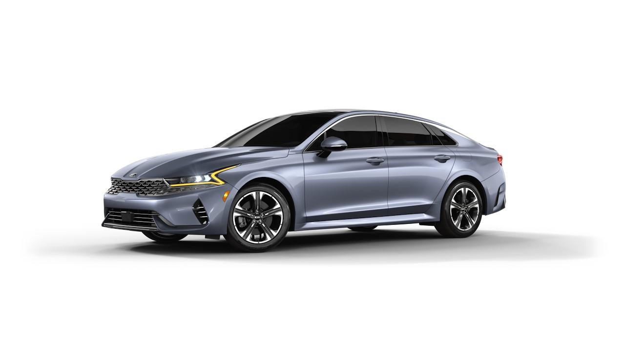 All-New Everlasting Silver 2021 Kia K5 For Sale at Russ Darrow Kia in Madison