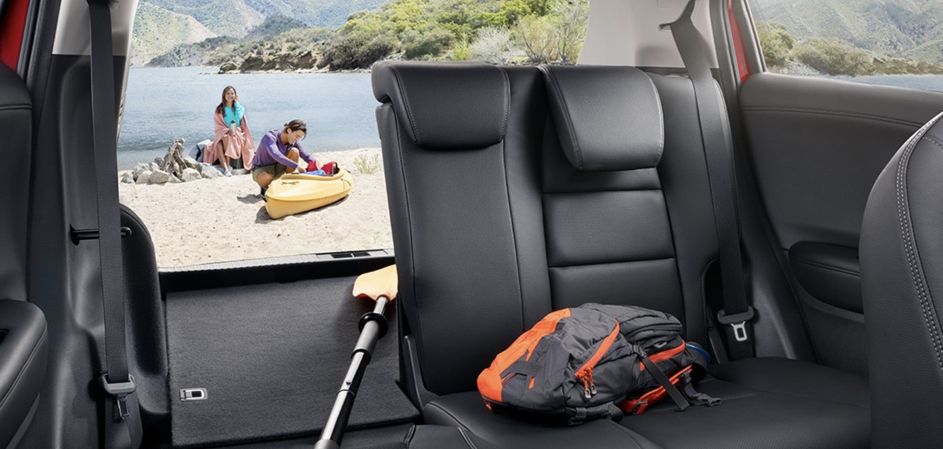 Interior Cargo and Seating in the 2020 Honda HR-V