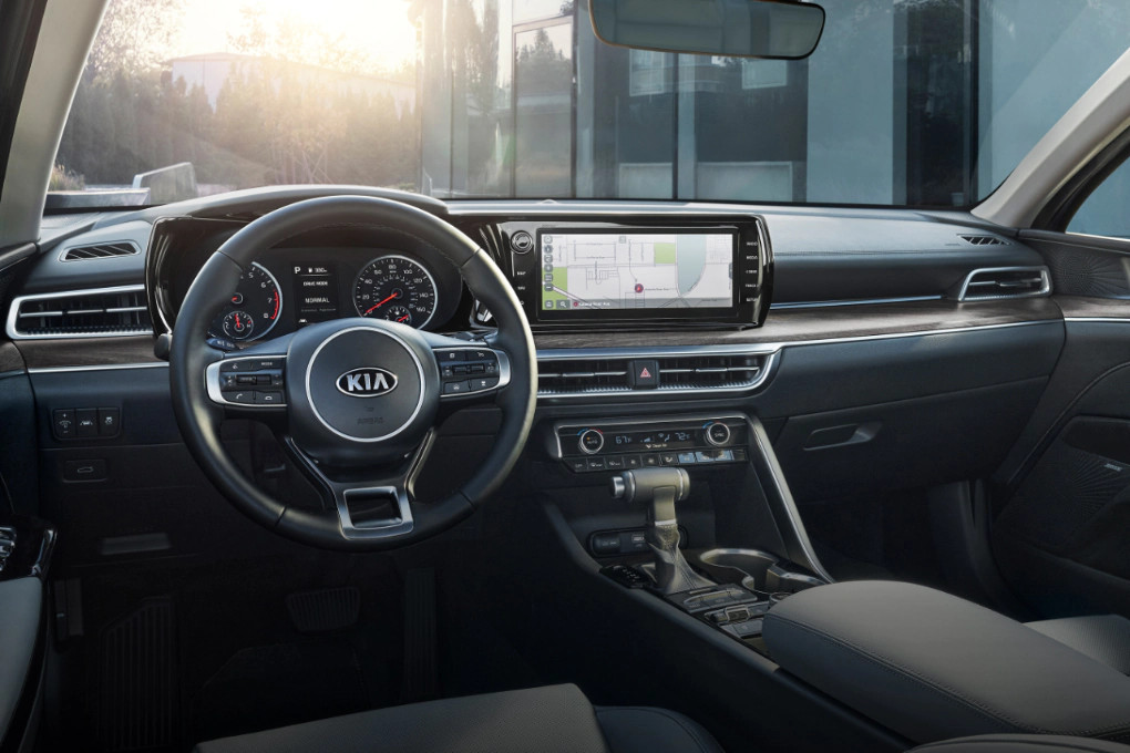 Technology in the 2020 Kia K5