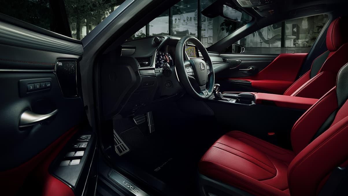 2020 ES 350 F Sport Interior
