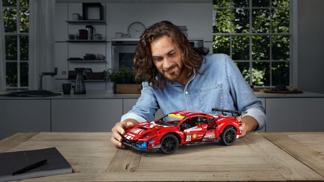 Ferrari South Bay Lego Technic Adds A Ferrari 488 Gte Kit To Its Portfolio