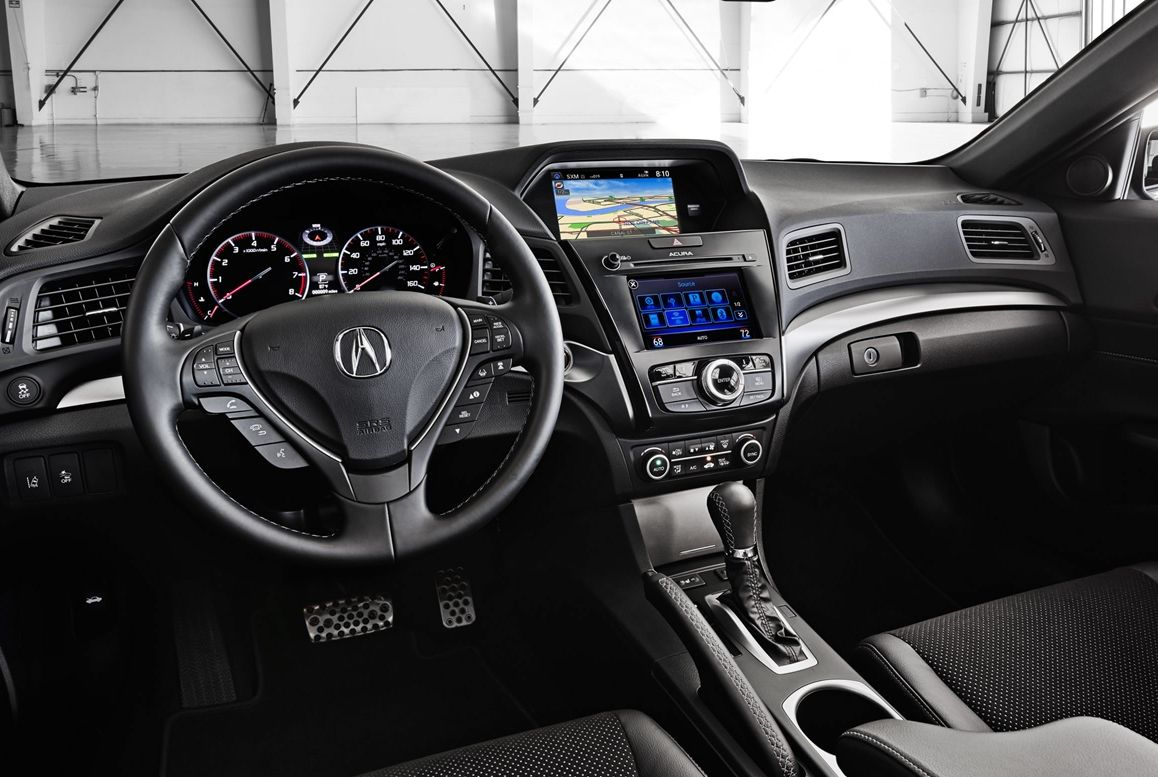 2016 TLX Interior with HD Radio