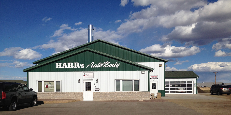 harr auto body shop image