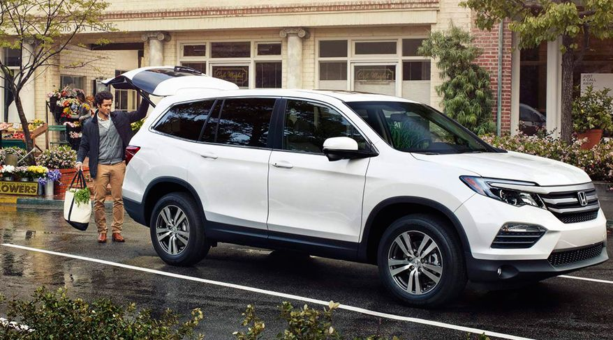 Honda Pilot Has a Power Liftgate