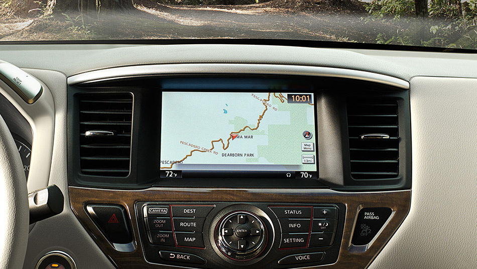 Available Navigation in our Certified Nissan Models
