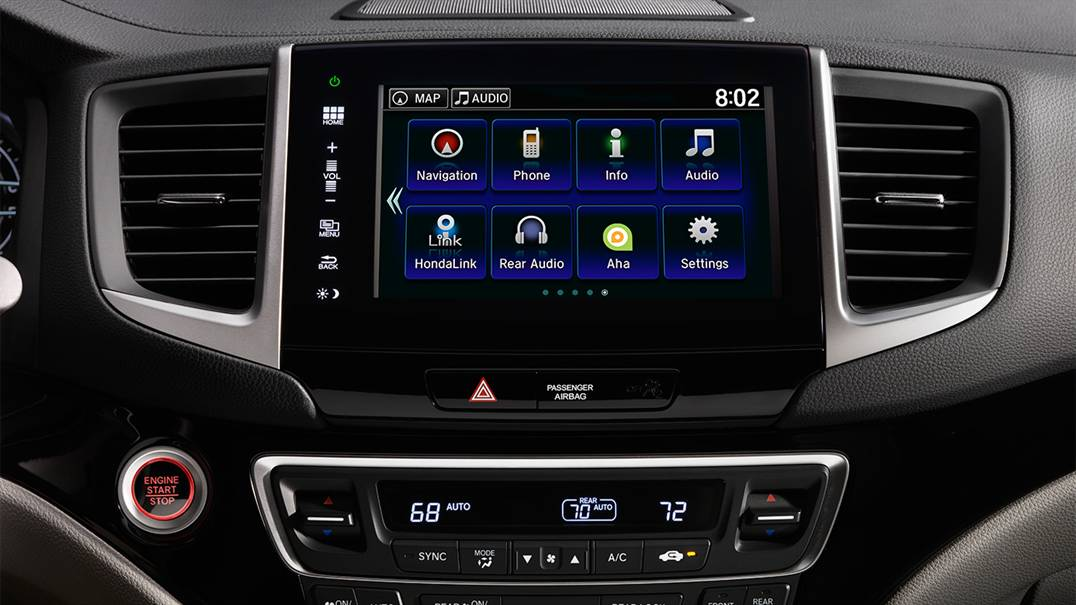 Honda Pilot Audio Display