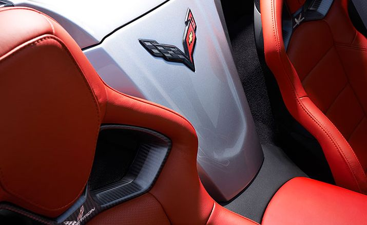 2016 Corvette Competition Sport Seating