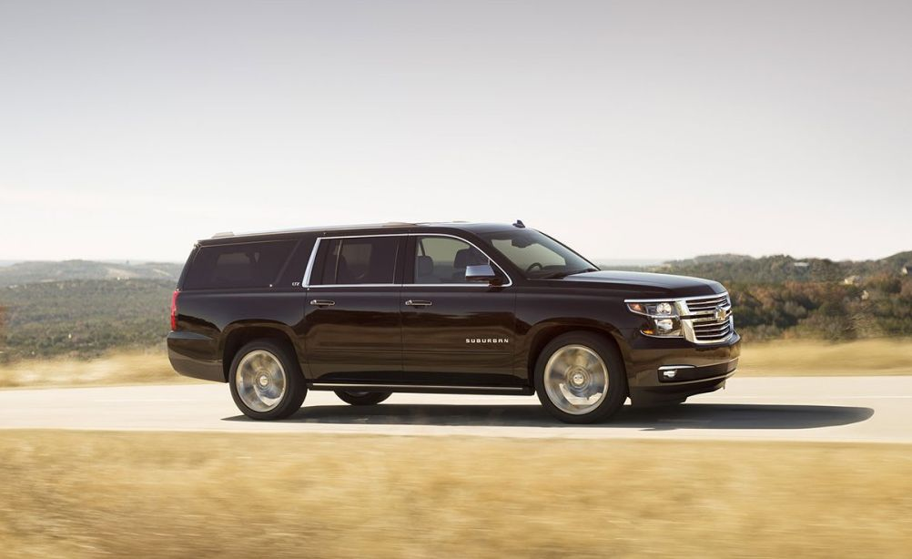 2016 Chevrolet Suburban vs 2016 Toyota Sequoia near Washington, DC