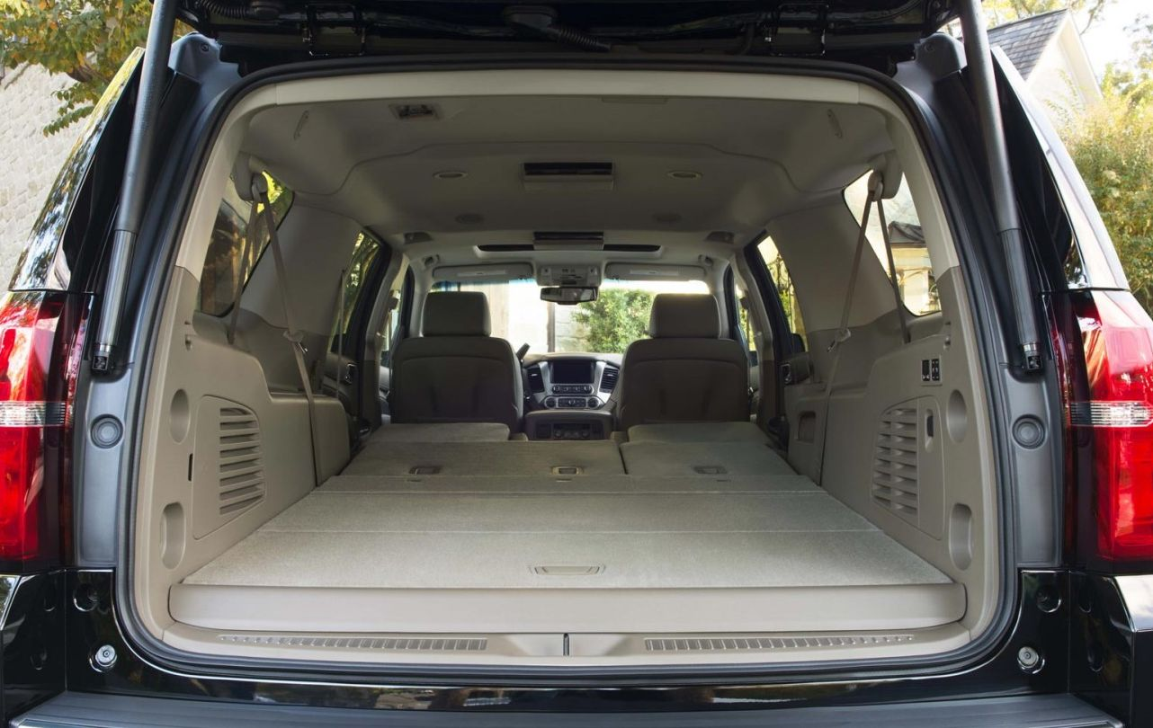 Chevy Suburban Cargo Space