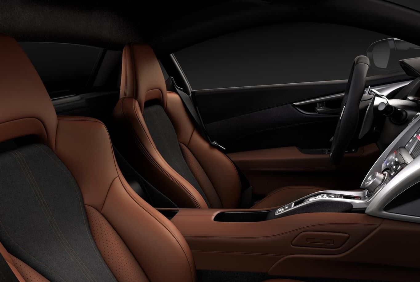 2017 NSX Milano Leather Seating