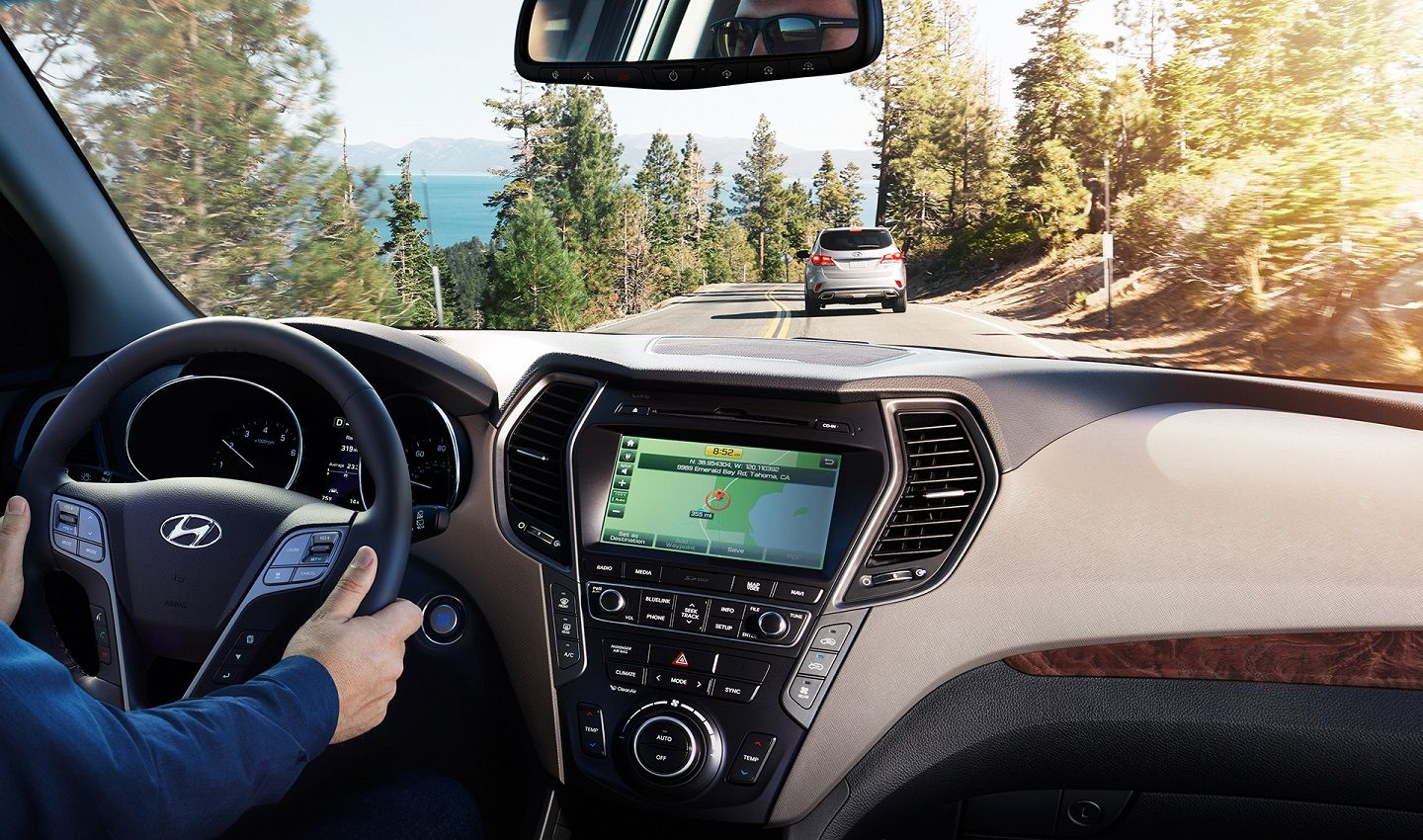 Hyundai Santa Fe with Navigation