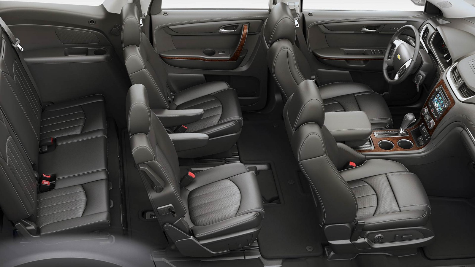 Three Rows of Seating in the 2016 Traverse