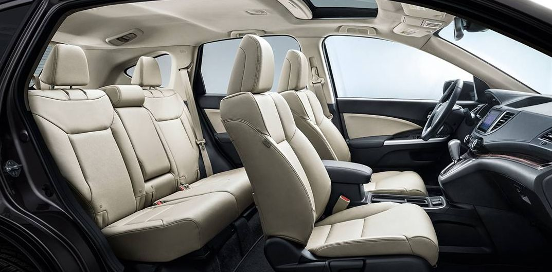 2016 CR-V with Leather-Trimmed Seating