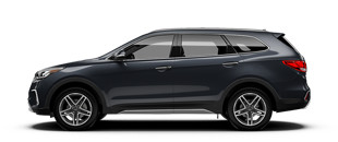 The Hyundai Santa Fe is a great SUV for Springfield, IL area drivers and is in stock at Green Hyundai