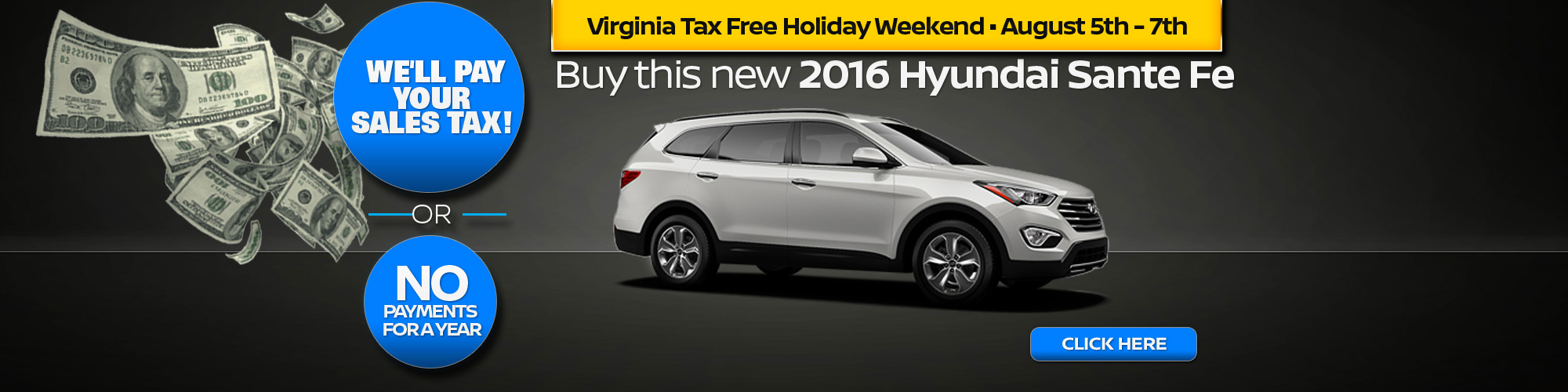 Virginia Auto Sales Tax >> We Ll Pay Your Sales Tax Pohanka Hyundai Of Fredericksburg