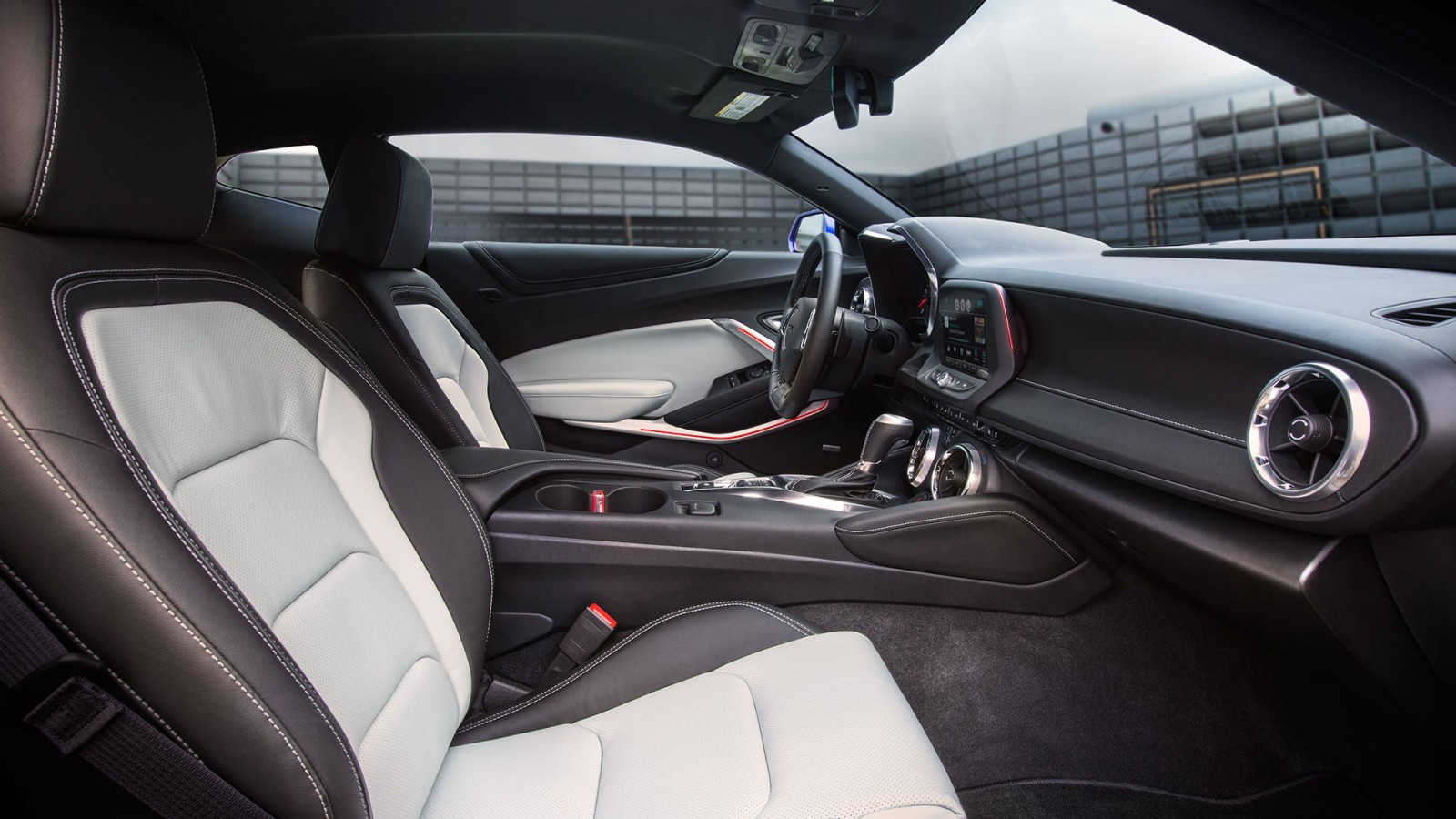 Interior of the 2017 Chevy Camaro