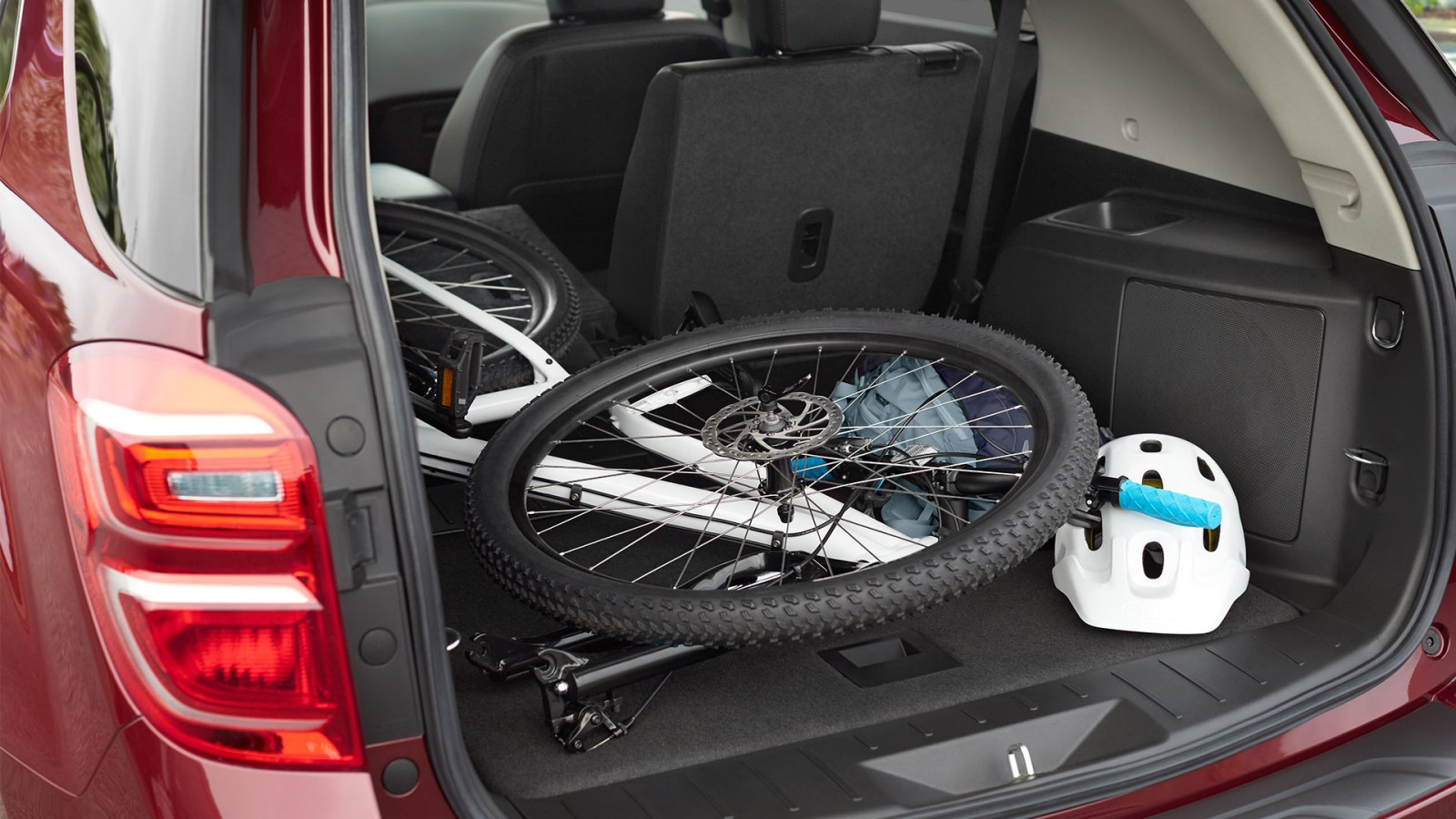 Cargo Space in the 2017 Equinox
