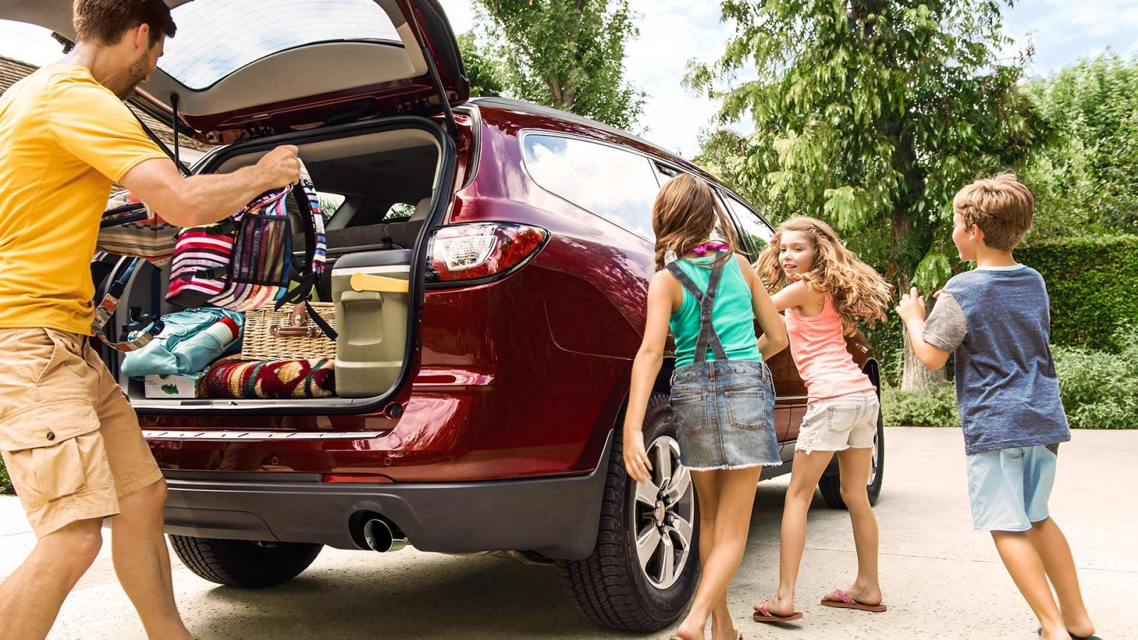 Cargo Space in the 2017 Traverse