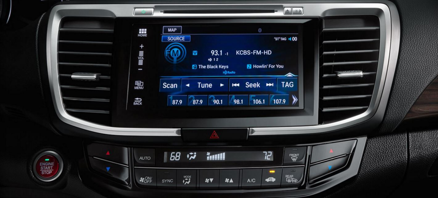 Honda Accord 7-inch Touchscreen