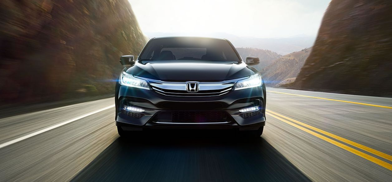 The LED Lights on the 2017 Accord are Stylish and Bright!