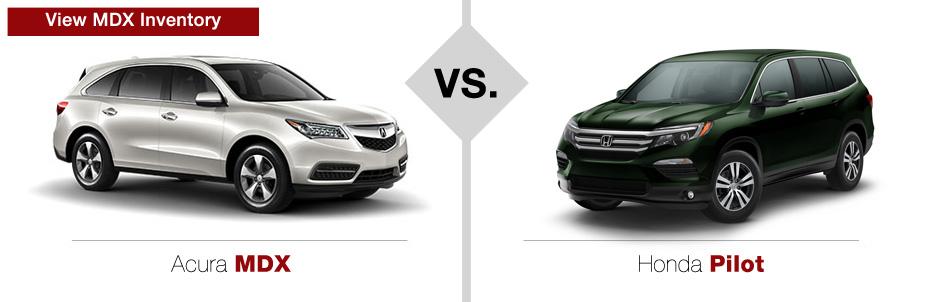 Honda And Acura >> Acura Vs Honda Comparison Muller S Woodfield Acura
