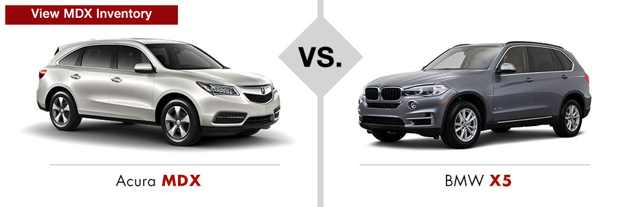 Acura vs. BMW Comparison - Muller's Woodfield Acura on