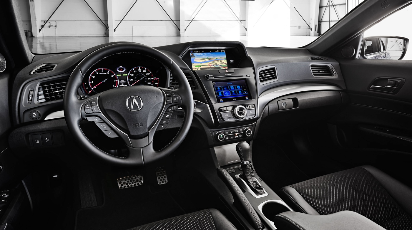 The 2017 ILX has a Well-Equipped Interior