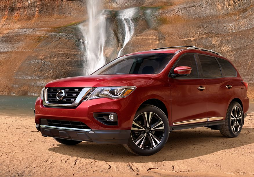 Buy a New 2017 Nissan Pathfinder | SUV Sales Near St. Charles, IL