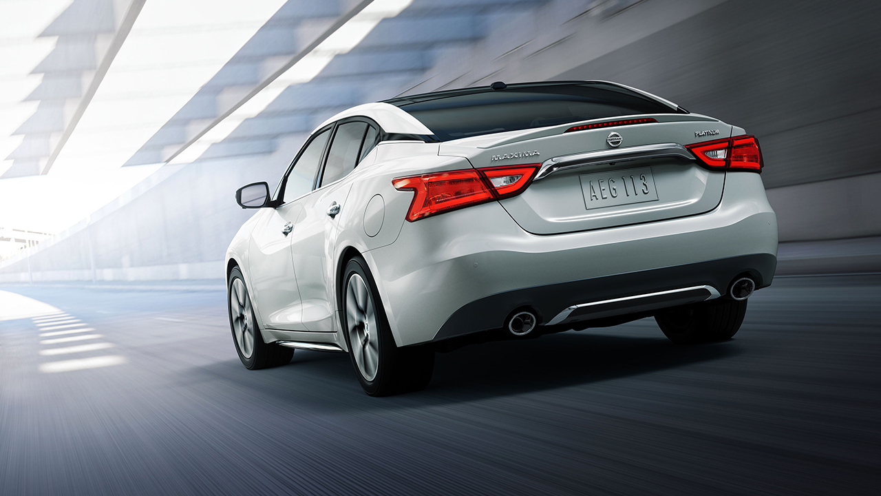 Nissan Maxima: Read firstthen drive safety