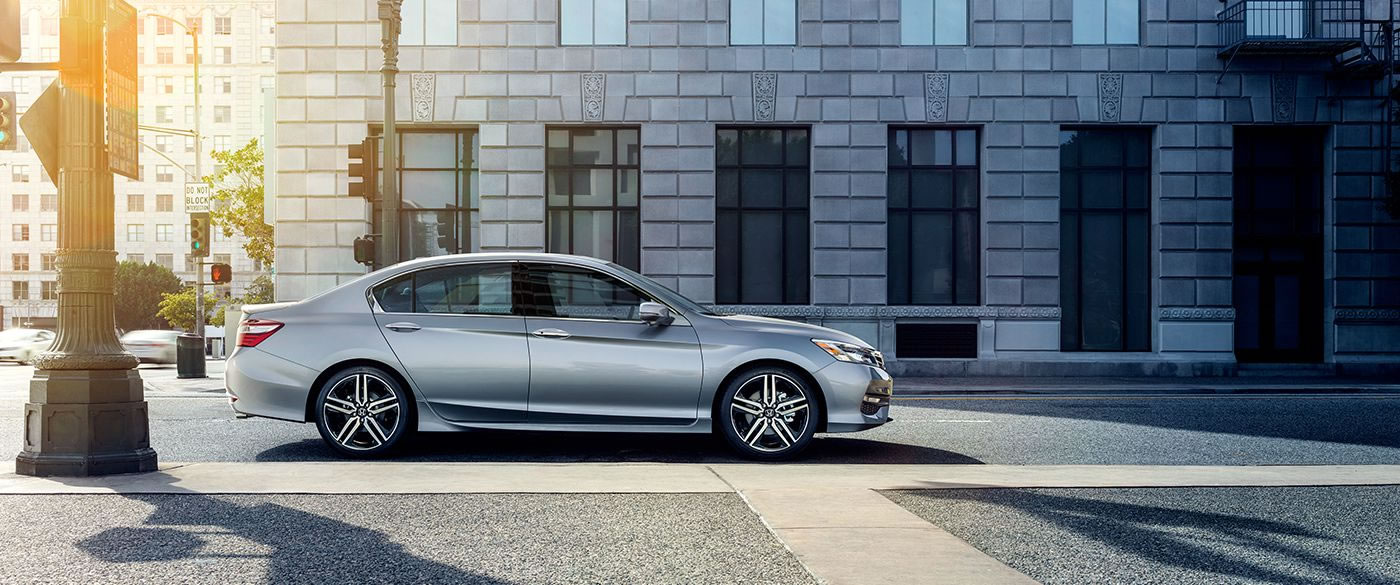 The Accord has a Sleek And Stylish Profile