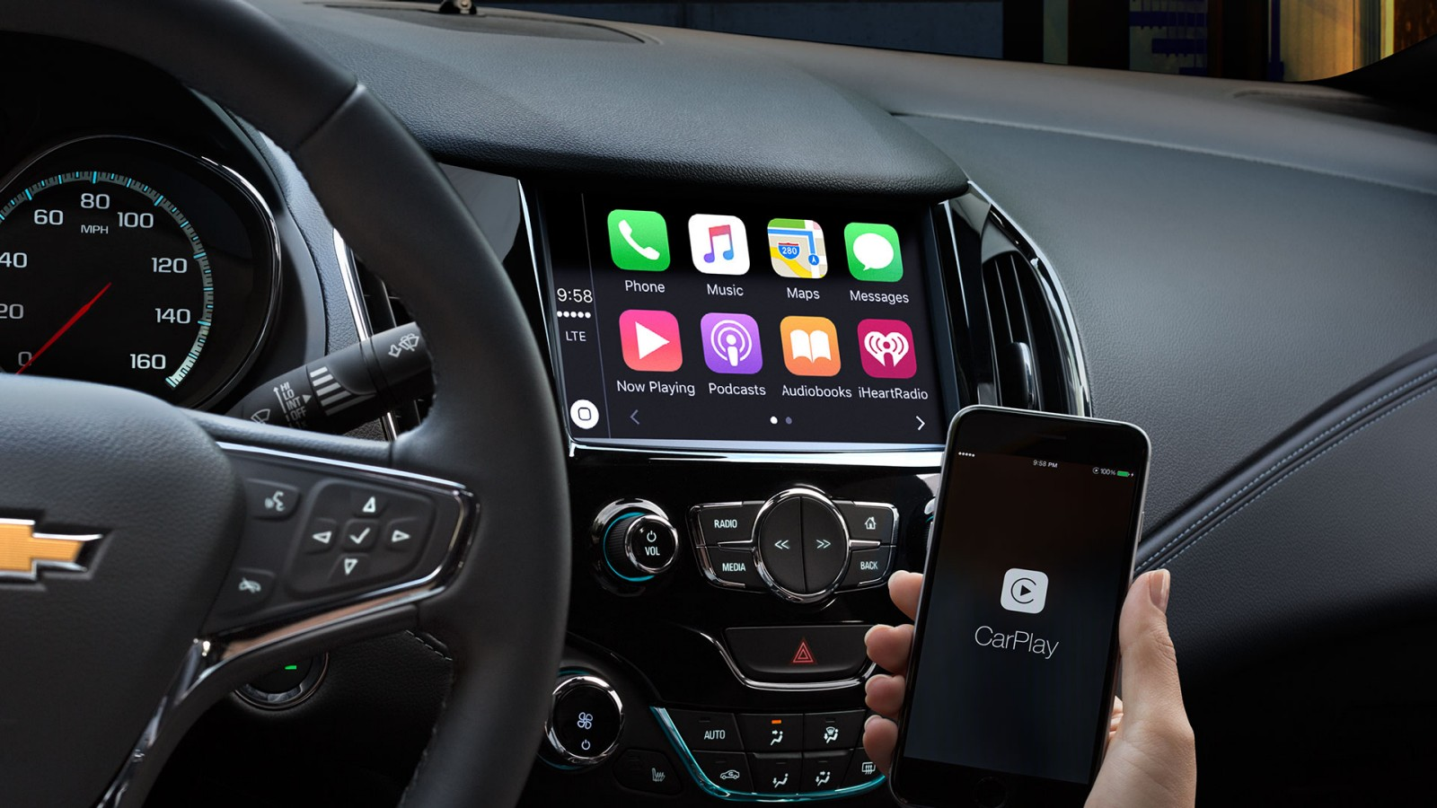 Smartphone Integration with Apple CarPlay™