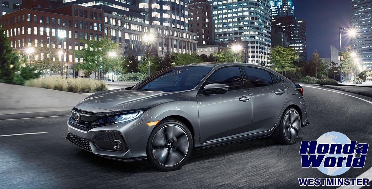 2017 Honda Civic Hatchback Orange County