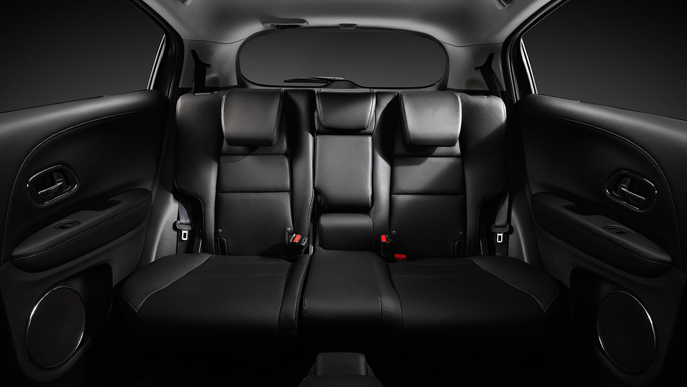 Theres Plenty Of Space In The Backseat HR V