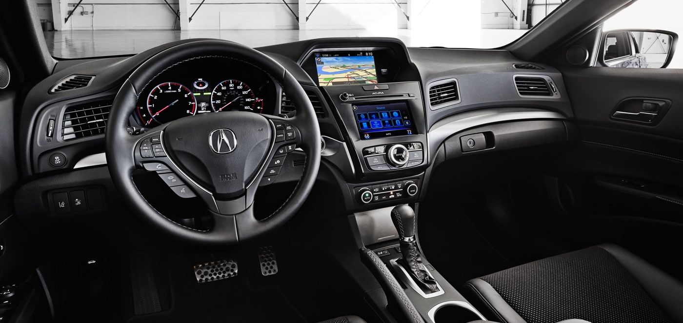 Acura ILX's Steering Wheel-Mounted Controls